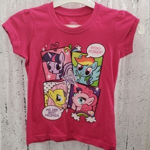 Girls T-Shirt - Fuchsia My Little Pony